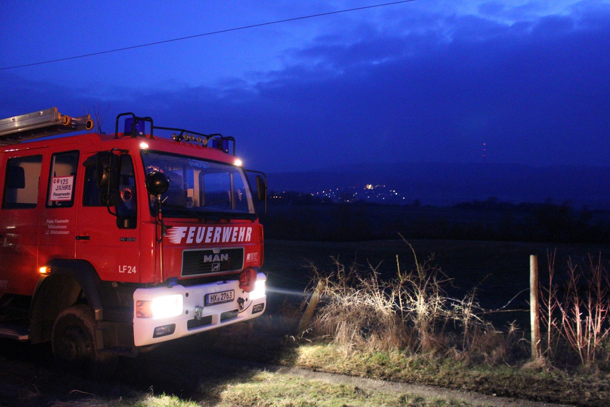 Löschzug und Jugendfeuerwehr Willebadessen, Freiwillige Feuerwehr Willebadessen